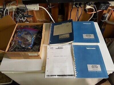 Tektronix 492 To 492p Spectrum Analyzer Mod Kit 040-1038-03 Plus Manuals
