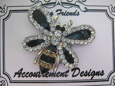Accoutrement Designs Bee Needle Minder Brooch Magnet Mag Friends