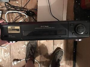 Sony video cassette player recorder South Melbourne Port Phillip Preview