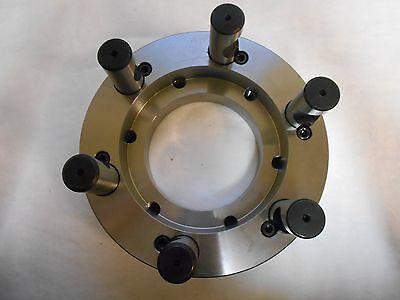 Pratt Burnerd Adapter Back Plate For 12 Self Centering Lathe Chucks 1205024