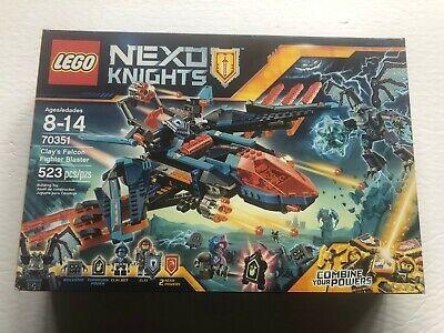 Lego Nexo Knights Clay's Falcon Fighter Blaster 70351 - NEW Sealed