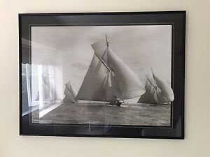 Frame and picture art boat sails Neutral Bay North Sydney Area Preview
