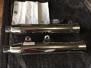 Harley Davidson softail fat boy slip on exhausts new!! Sale Wellington Area Preview