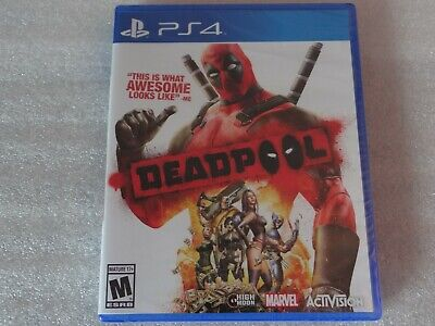 Deadpool Playstation 4 PS4 (New,Sealed & No Dings or Dents)