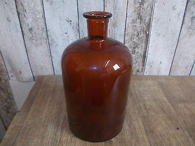 alte Apotherkerflasche,Glasflasche,Blumenvase