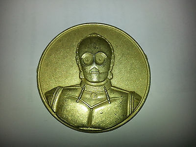 Star Wars C3po 1 7 8   Diameter Coin   2005 Ca Lottery Limited Edition Promo