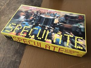 Speculate 70s Strategy Board Game Stock Market Family Vintage