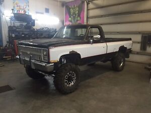 1986 Chevy project truck