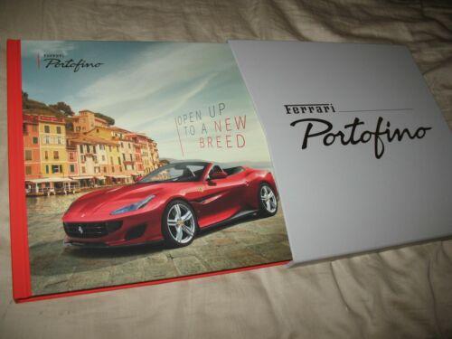 Ferrari Portofino hardcover prestige brochure with slipcase 5853/17