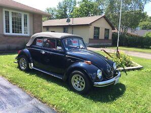 1970 Volkswagen Beetle Convertible