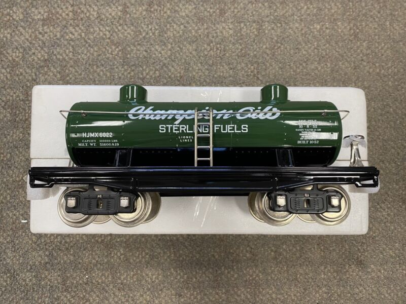 + Lionel MTH Standard Gauge #215 2-Dome Oil Car - Sterling Fuels 11-30205