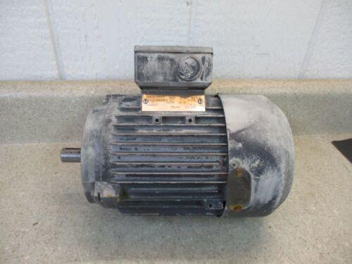 SIEMENS ELECTRIC MOTOR .63KW, 1705 RPM, 220/380V, 60HZ  #82315G USED