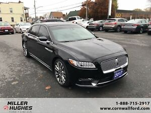 2017 Lincoln Continental Reserve, Heated Steering Wheel, Sync 3,