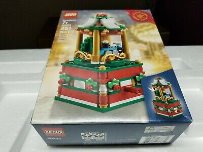 New Factory Sealed LEGO 40293 Holiday Christmas Carousel 2018 Limited Edition