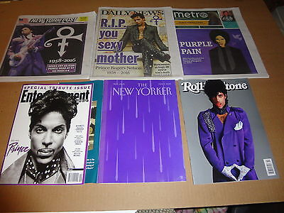 New Yorker Rolling Stone Entertainment Weekly  Prince  New York Post Daily News