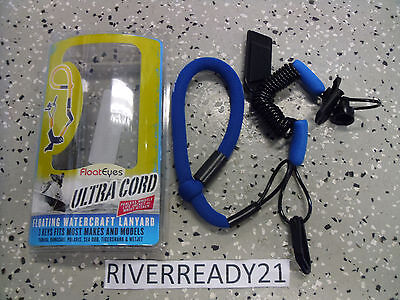 Sea-doo Kawasaki Jet-Ski Yamaha Wave-Runner Wrist-Lanyard-Key Floating Blue RTS