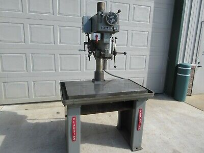 Clausing 20 Variable Speed Drill Press Table Type Toolmaker W Reverse