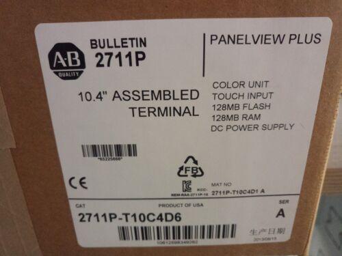 1pc New Allen Bradley Ab 2711p-t10c4d6