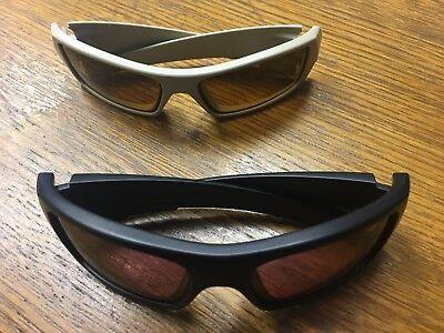 LOT 2 Oakley Ballistic SI sunglasses Det Cord Gascan Flag OO9253-02 PRIZM