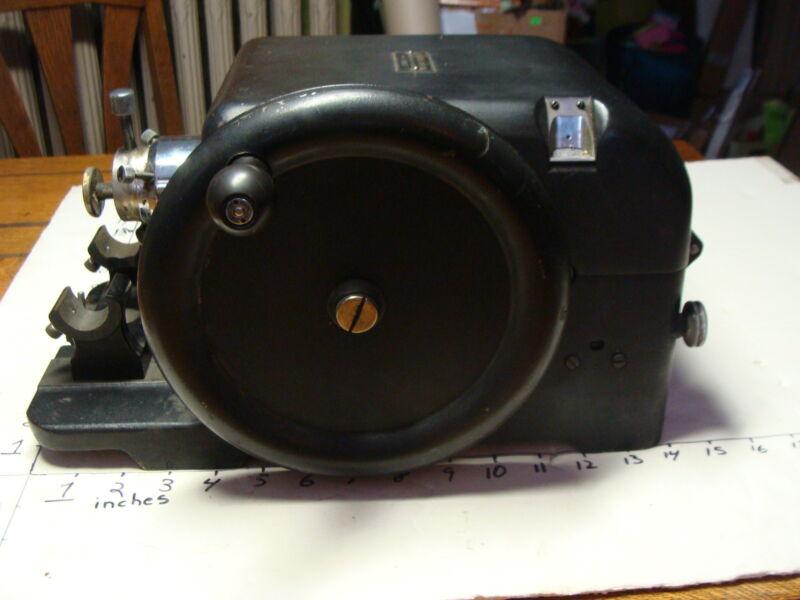 Elli Buk item: Vintage SPENCER LENS CUTTER 820 ROTARY MICROTOME