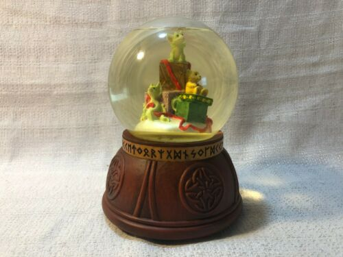 Whimsical World Of Pocket Dragons Presents Water Globe by Real Musgrave NIB