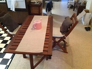 IKEA dinning outdoor table + 2 chairs Adelaide CBD Adelaide City Preview