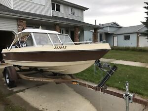 1982 Vanguard Cutlass 150 c/w 90HP Evinrude VRO