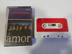 MOCEDADES-AMOR-CINTA-TAPE-CASSETTE-K7-ZAFIRO-1983-PAPER-LABELS