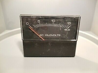 Yokogawa Ac Kilovolts Panel Meter 260344rxrxijbk 347129
