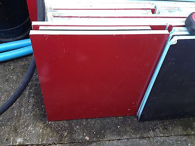 Insulation Pannels with foam on inside and aluminium on each side 1sq meterx25mm