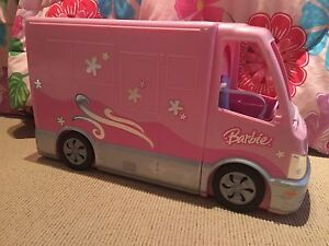 Barbie RV with Barbie & a few acc.