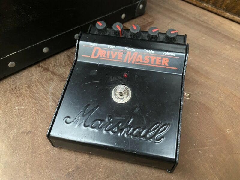 Guitar Marshall Drivemaster Pod Line6 Fender Footswitch Leads Strings Acessories