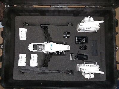 DJI Inspire 1 Pro Drone Package, 2 Remotes, 3 Batteries, X5 Camera, plus extras
