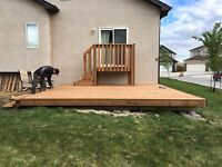 Need a fence or deck built or repaired?