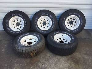 5 Used Wheels to suit Toyota Landcruiser 75 76 78 79 series Salisbury Brisbane South West Preview