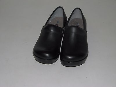 (NEW Womens Jambu JBU Cordoba Black Wedge Clog Slip On Shoes Sz EUR 38, US 7.5M)