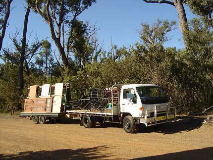 Truck Flat Bed Toyota Dyna 4 ton Payload with full Gates Rockingham Rockingham Area Preview