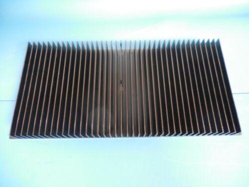 Black Anodized Aluminum Heatsink 340mm x 150mm x 35mm