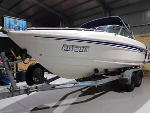 Savage Javelin 55BR 5.5m Mercury 140hp Skiing,Fishing,Family boat Nowra Nowra-Bomaderry Preview