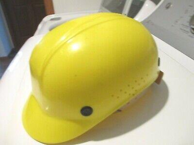 North Bump Cap Model 86 Lightweight Yellow Vintage