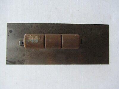 Vintage Stainless Steel Drywall Trowel With Wood Handle 10 X 4
