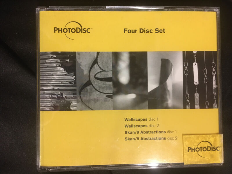PhotoDisc Four Disc Set Background Series 3&4