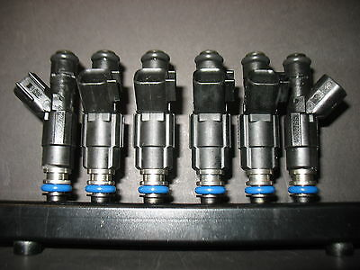 2001 2002 JEEP 4.0L FUEL INJECTOR UPRGRADE BOSCH 4 HOLE EV6 36 MO WARRANTY