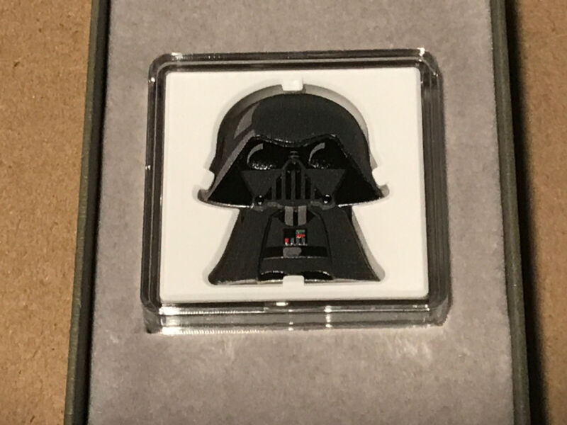 2020 Darth Vadar Chibi Star Wars 1oz Silver Proof Niue Coin
