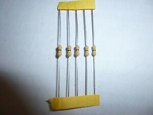 2K Ohm 1/4 Watt Carbon Film Resistor 5 Pieces Prime Parts US Seller Free S&H