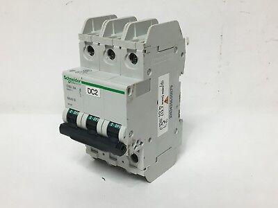 Mini Circuit Breaker (Schneider Electric 60187 Mini Circuit Breaker 240V 3A Multi 9 Merlin Gerin 3P)