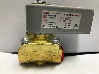 Hobart Pn E270329-2 Steam Hot Water Solenoid Valve 34 Npt 240v Ac Hv2360182