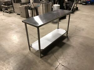 Commercial Stainless table