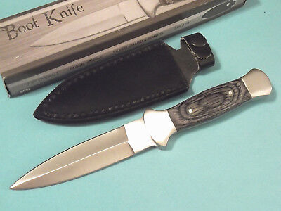 Full Tang Blade - Boot Knife 203403 Black wood dagger full tang blade knife 7 1/2