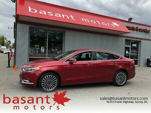 2017 Ford Fusion Leather, Heated Seats, Sunroof, Nav!!